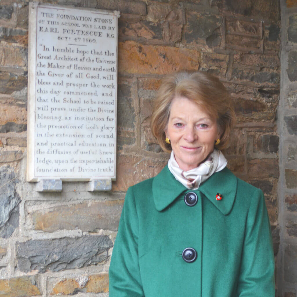 President of the School – The Countess of Arran MBE VLL