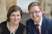 Eva Nikolovska and Gary Beecher