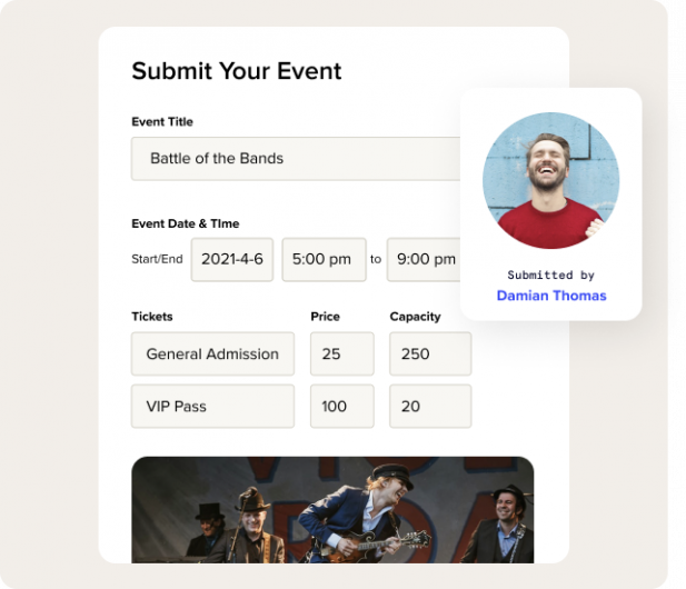 Boost ticket sales by crowdsourcing