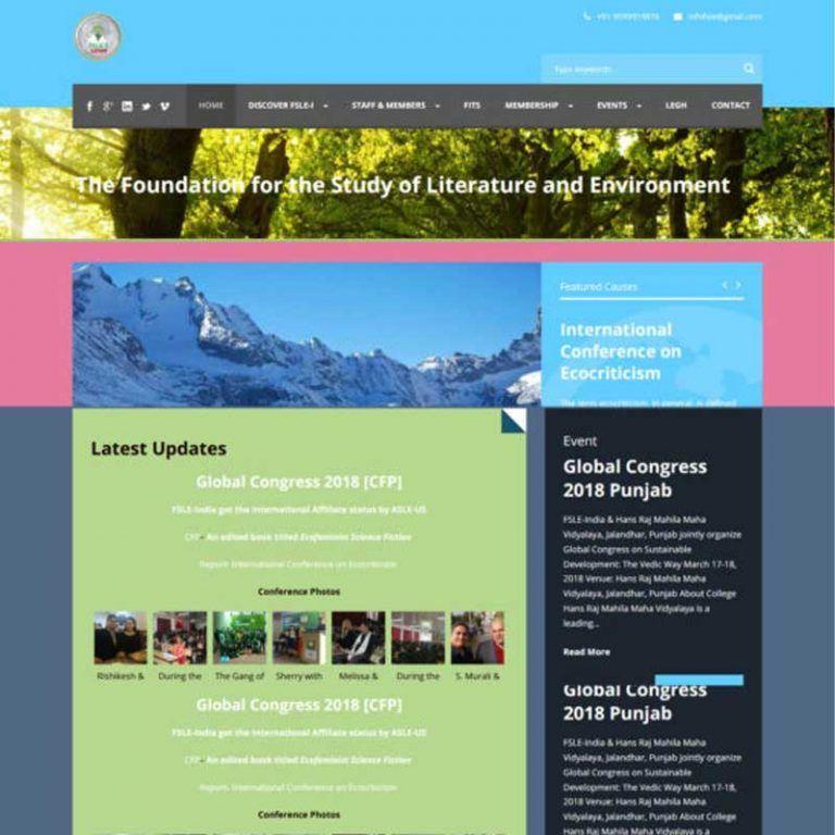 WordPress – CMS Website – efsle_org