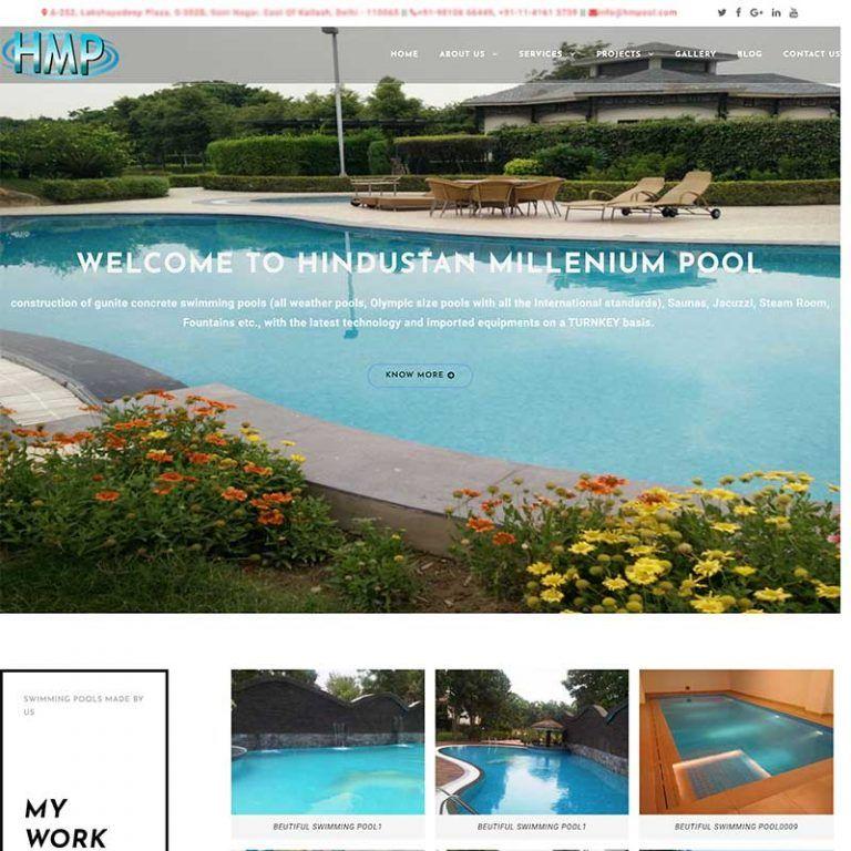 WordPress – CMS Website – hmpool