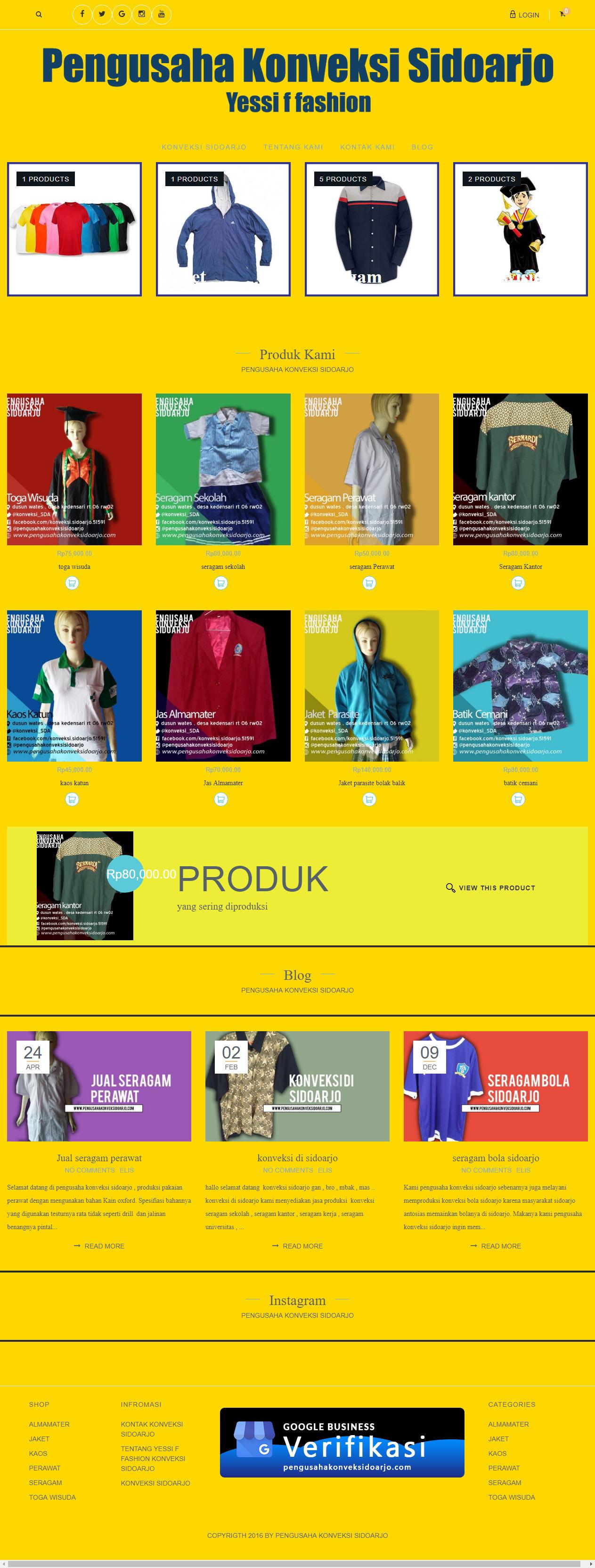 contoh ke 2 jasa pembuatan toko online
