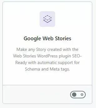 Module Google Web Stories