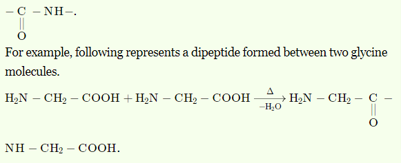 What is peptide bond(linkage). Write an example of dipeptide