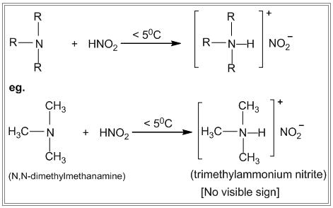 Nitrous acid test