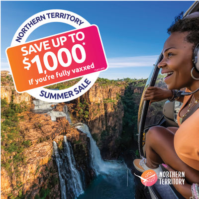 NT launches the NT Summer Sale for vaxxed Aussies