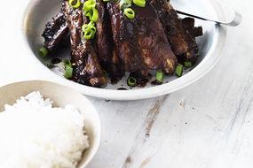BBQ Pork Ribs with Hoisin