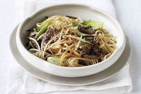 Dry Beef Rice Noodles