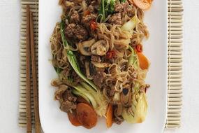 Korean Beef Chap Chae