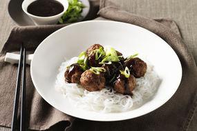 Pork Hoisin Meatballs