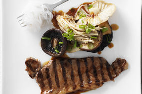 Minute Steak Mixed Mushrooms