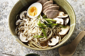 Quick Ramen Style Noodle Soup