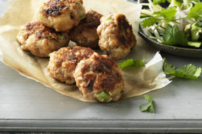 Salmon and Ginger Fishcakes With Cucumber Relish