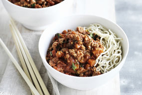 Spaghetti Bolognese, Chang's Style