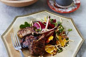 Lamb, Beetroot, Apple & Watercress Noodle Salad