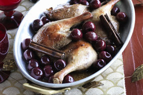 Five Spice Marinated Duck Breast