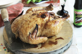 Chinese Marinated Whole Roasted Chicken