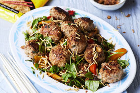 Pork Meatballs with Oyster Sauce