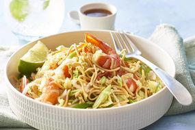 Prawn oriental crispy noodle salad