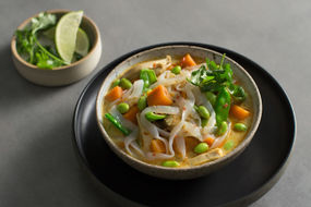 Spicy curry noodle soup