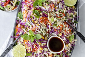 Spicy Fried Noodle Salad