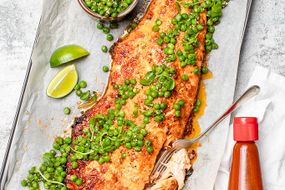 Salmon with Spicy Glaze