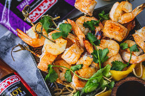 Hot Chilli Seafood Skewers