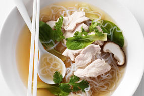 Japanese Chicken and Mushroom Soup