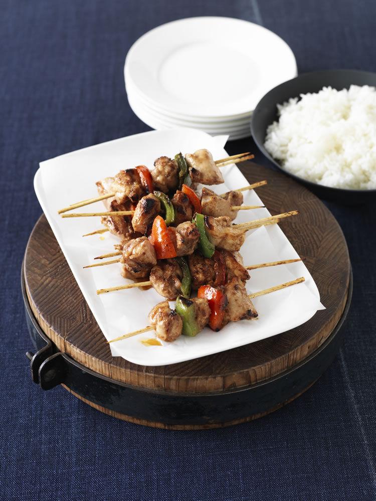 Chinese Chicken Skewers