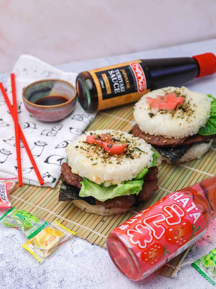 Teriyaki Sushi Burgers