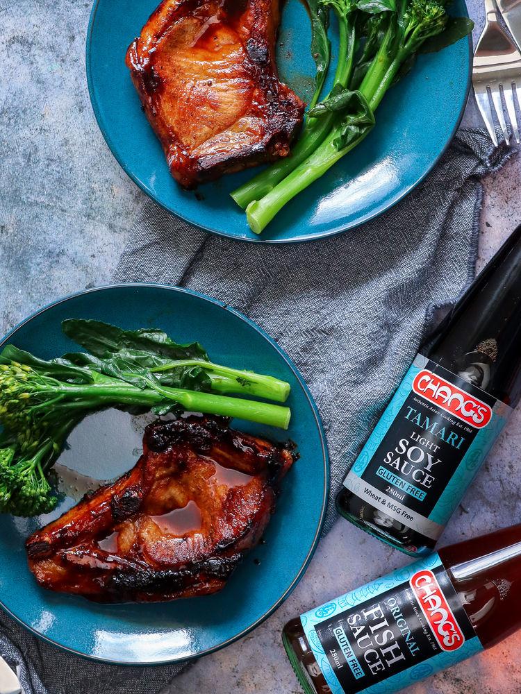 Fish Sauce Caramel Pork Chops