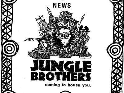 Jungle Brothers – Black is Black