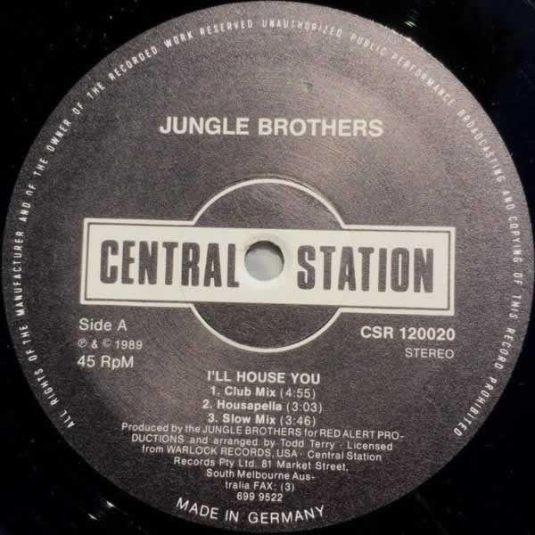 I'll House You  -  Jungle Brothers