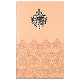 Damask Invitations Cards