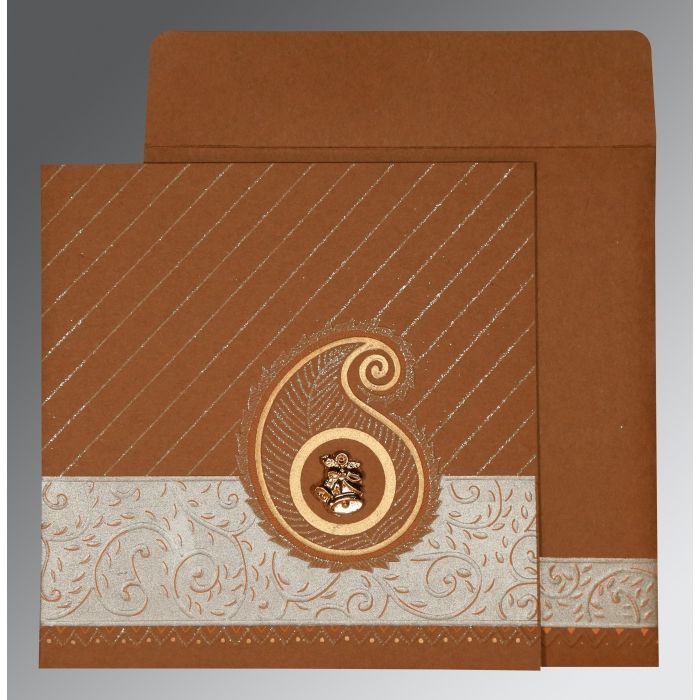 WEDDING CARD : CC-1178 - IndianWeddingCards