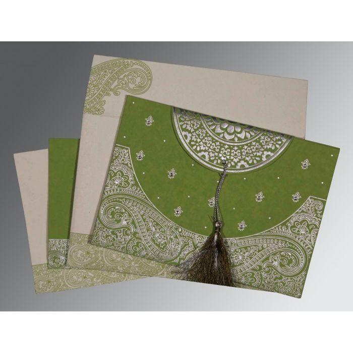 WEDDING CARD : CC-8234C - IndianWeddingCards