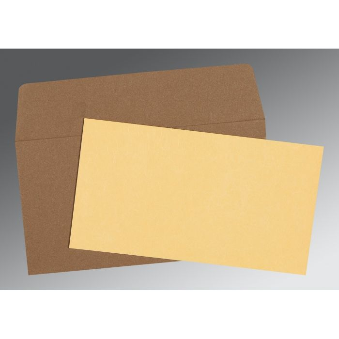 CREAM MATTE PERSONAL CARDS : CP-0021 - IndianWeddingCards