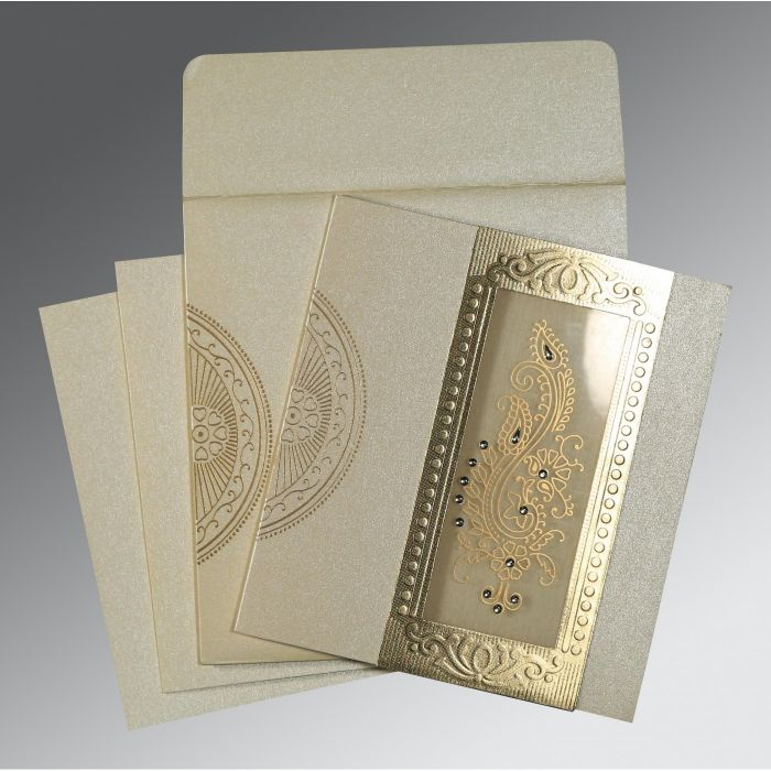 WEDDING INVITATION : CC-8230O - IndianWeddingCards