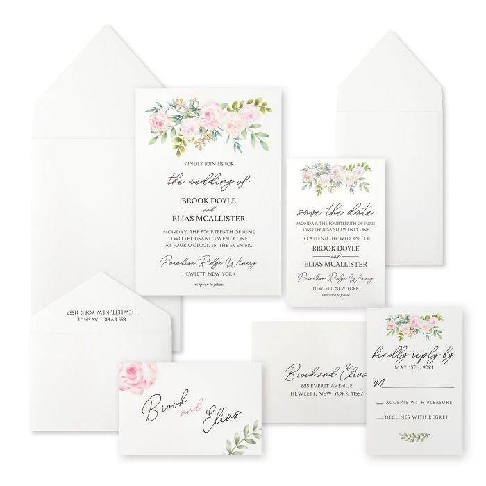 WEDDING INVITATION : CPEONY_FALL - IndianWeddingCards