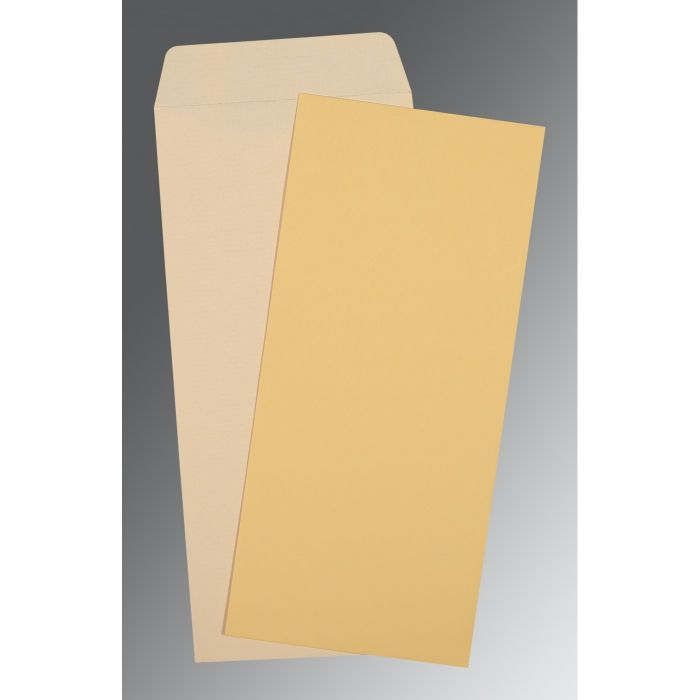 YELLOW MATTE WEDDING INVITATION : P-0034 - 123WeddingCards