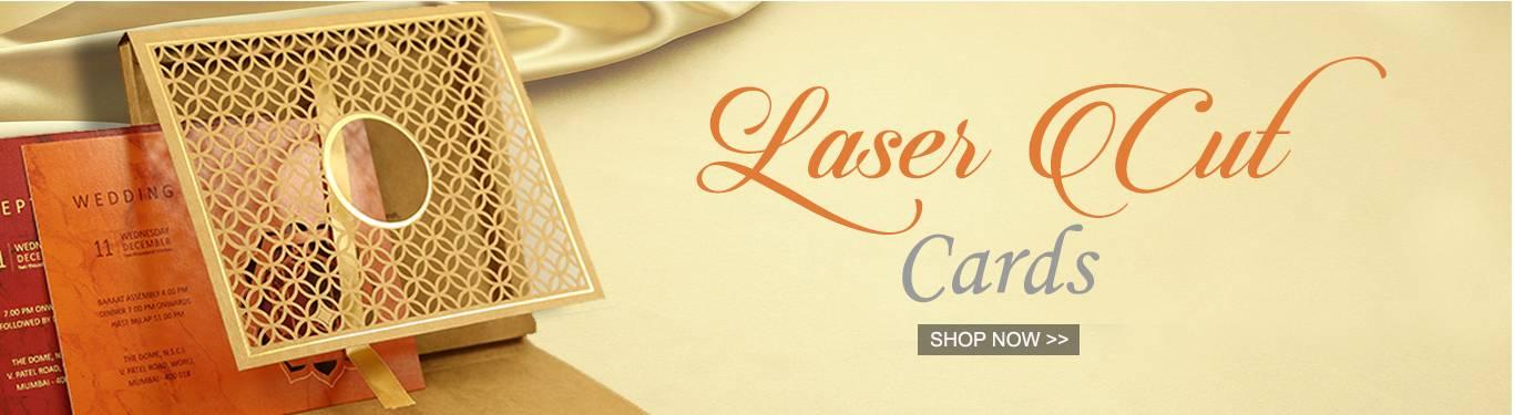 Laser Cut Invitations by 123WeddingCards