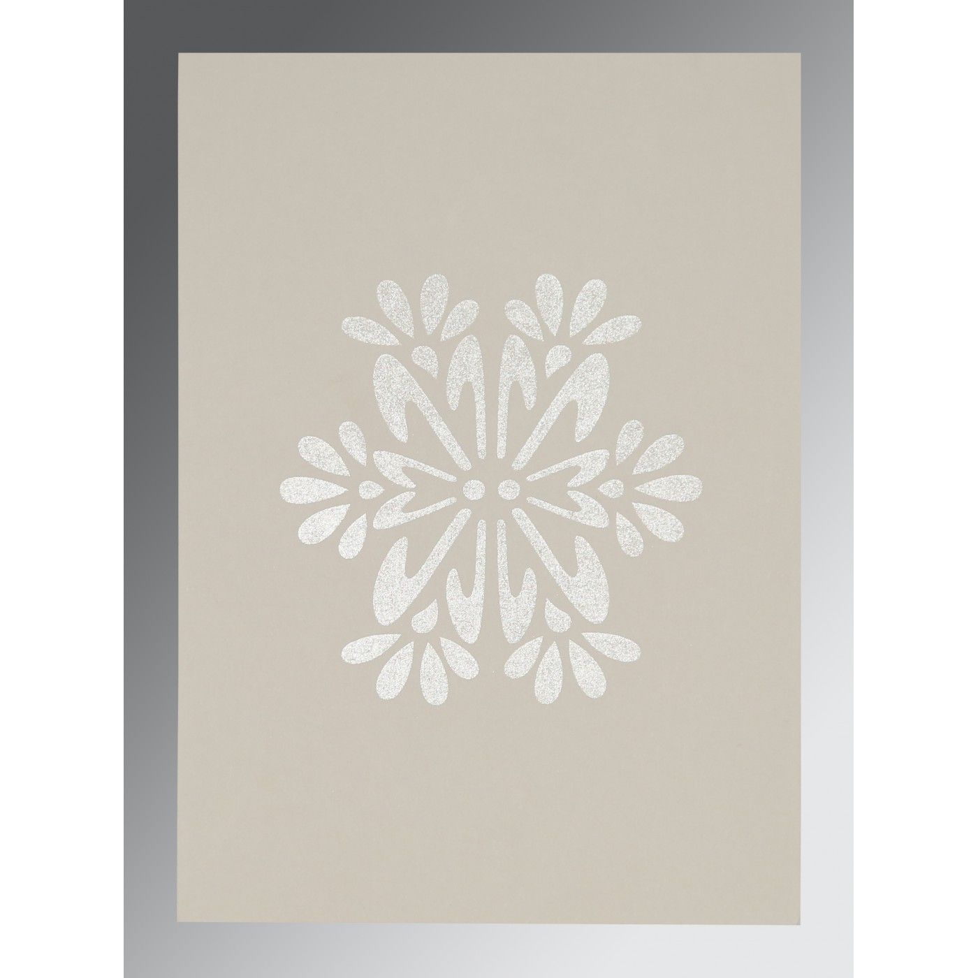 BLACK MATTE FLORAL THEMED - FOIL STAMPED WEDDING INVITATION : CRU-8237H - IndianWeddingCards
