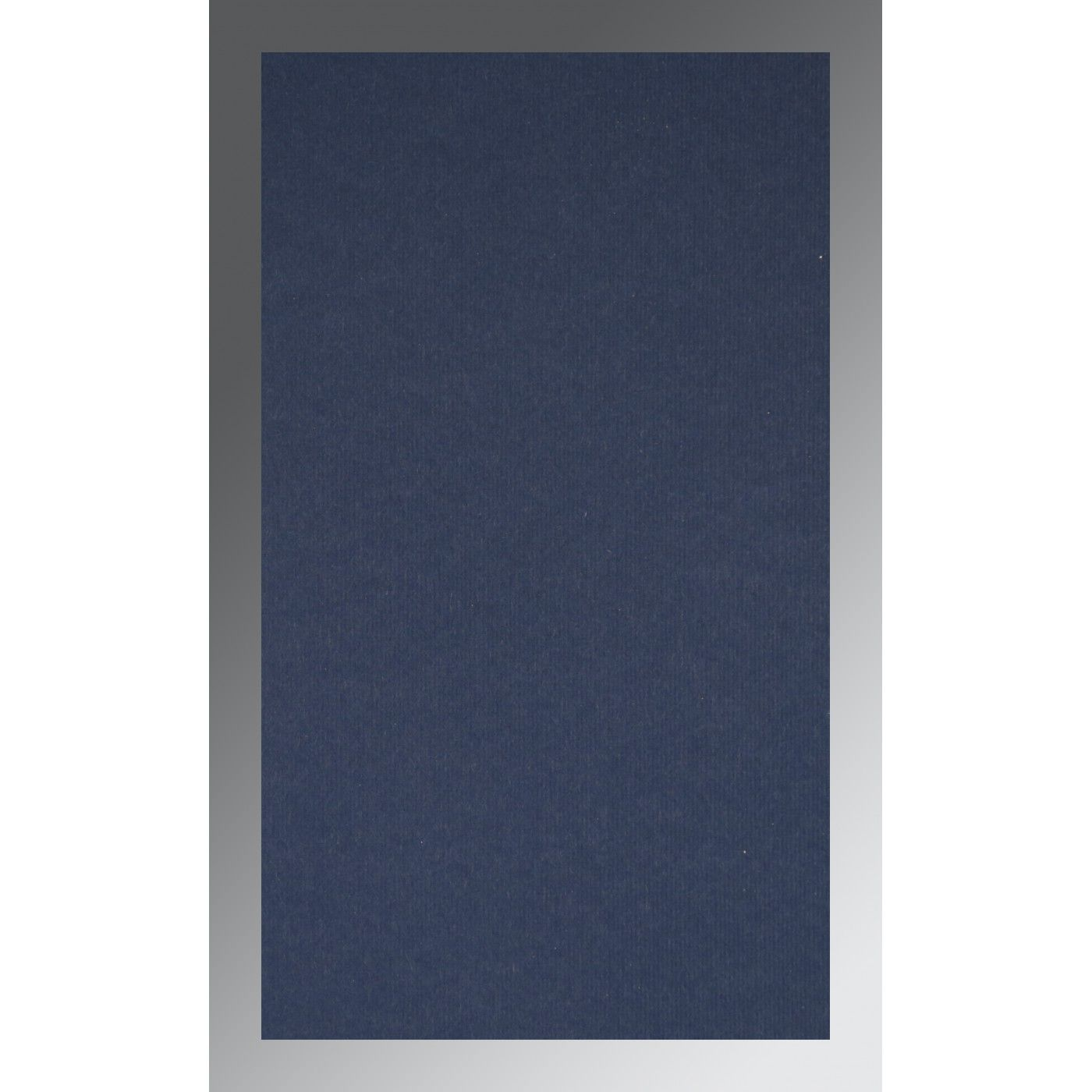 TATIANA MIDNIGHT BLUE MATTE FOIL STAMPED WEDDING INVITATION : CW-1433 - IndianWeddingCards