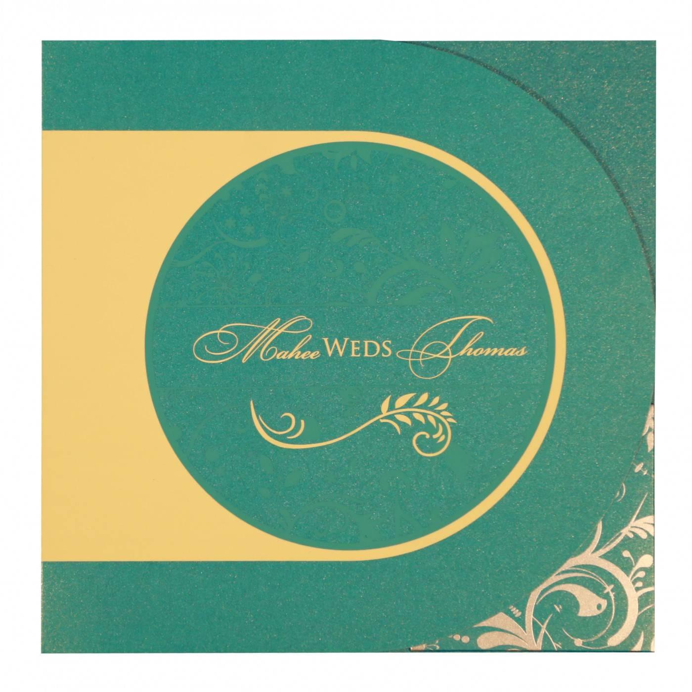 WEDDING CARD : CC-8264C - IndianWeddingCards