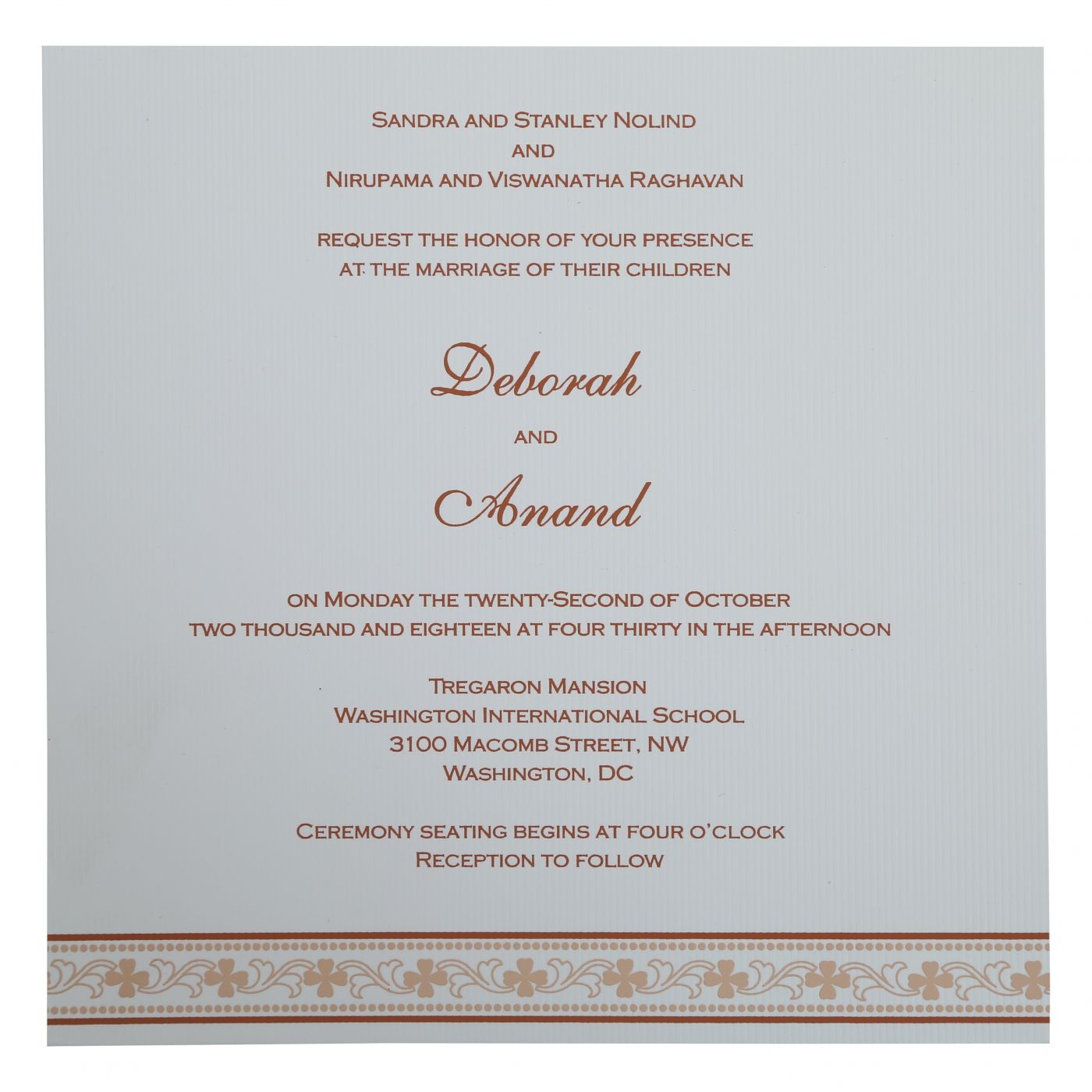WEDDING INVITATION : CC-808D - IndianWeddingCards