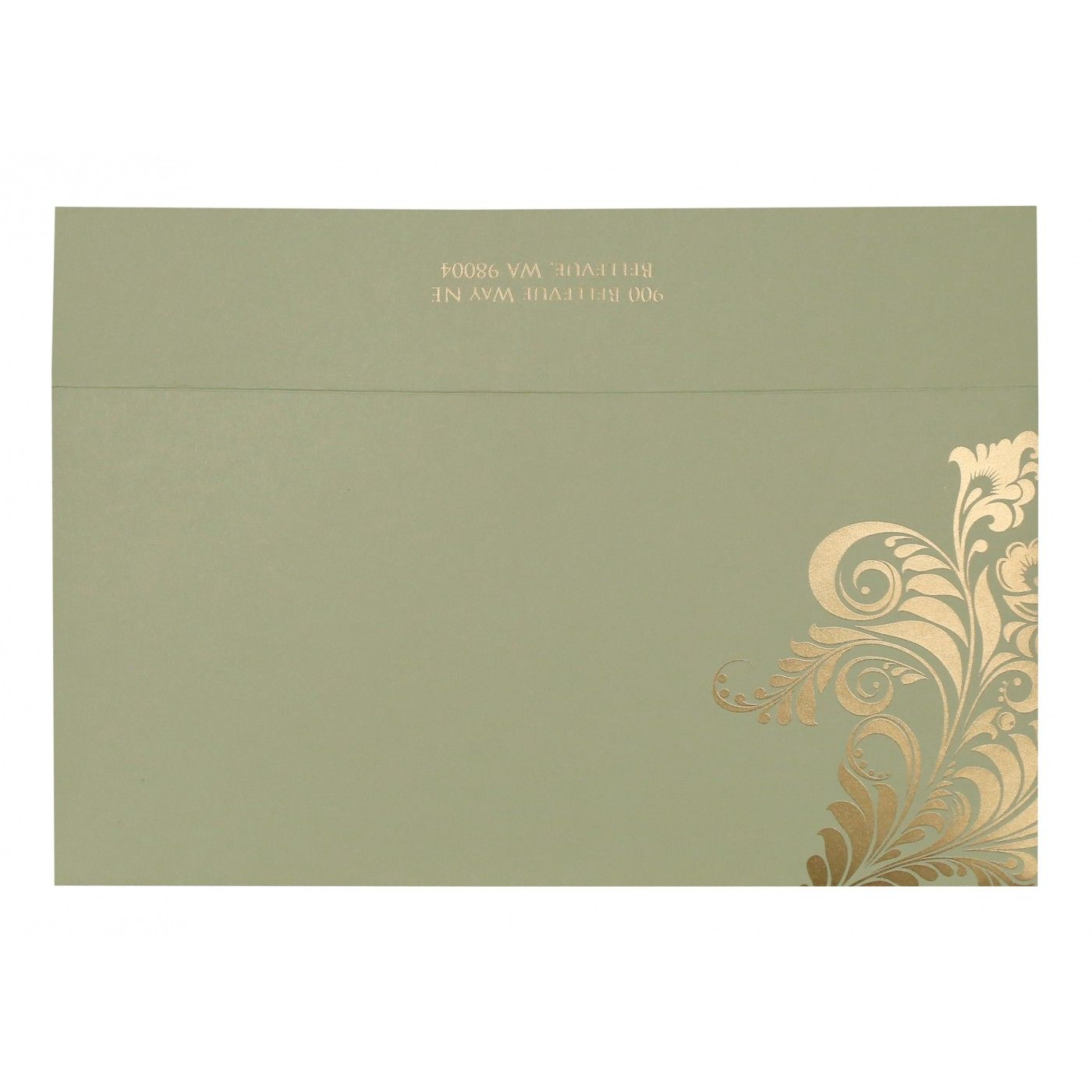 DARK BROWN MATTE FLORAL THEMED - SCREEN PRINTED WEDDING CARD : CS-8259C - IndianWeddingCards