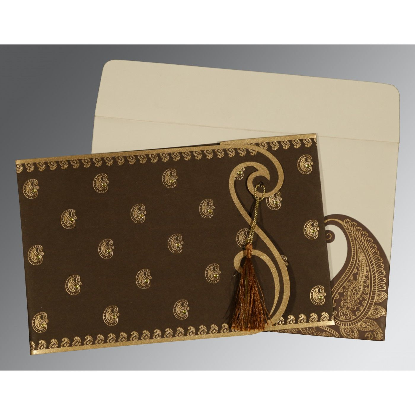 WEDDING INVITATION : CC-8252F - IndianWeddingCards