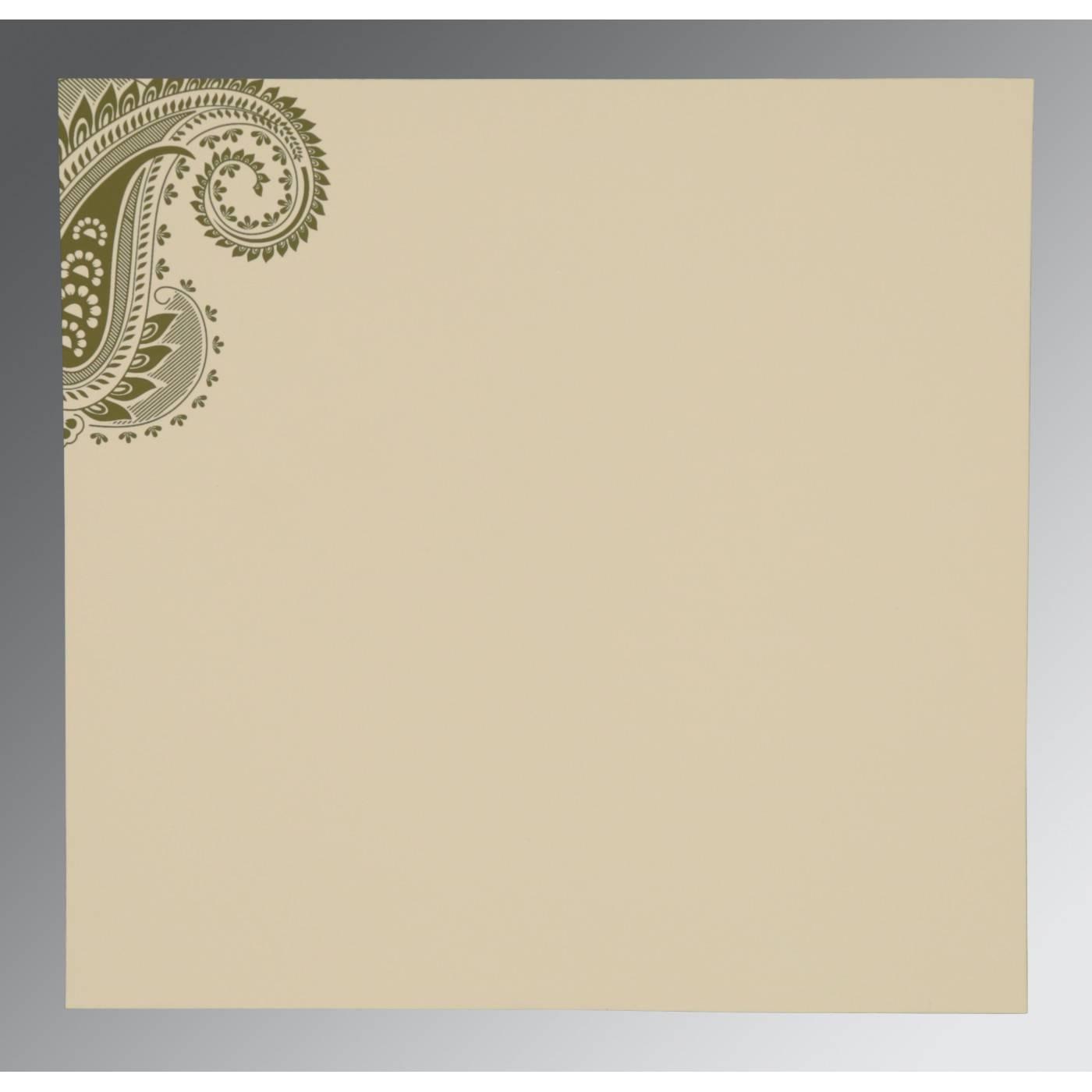 WEDDING CARD : CC-8250G - IndianWeddingCards