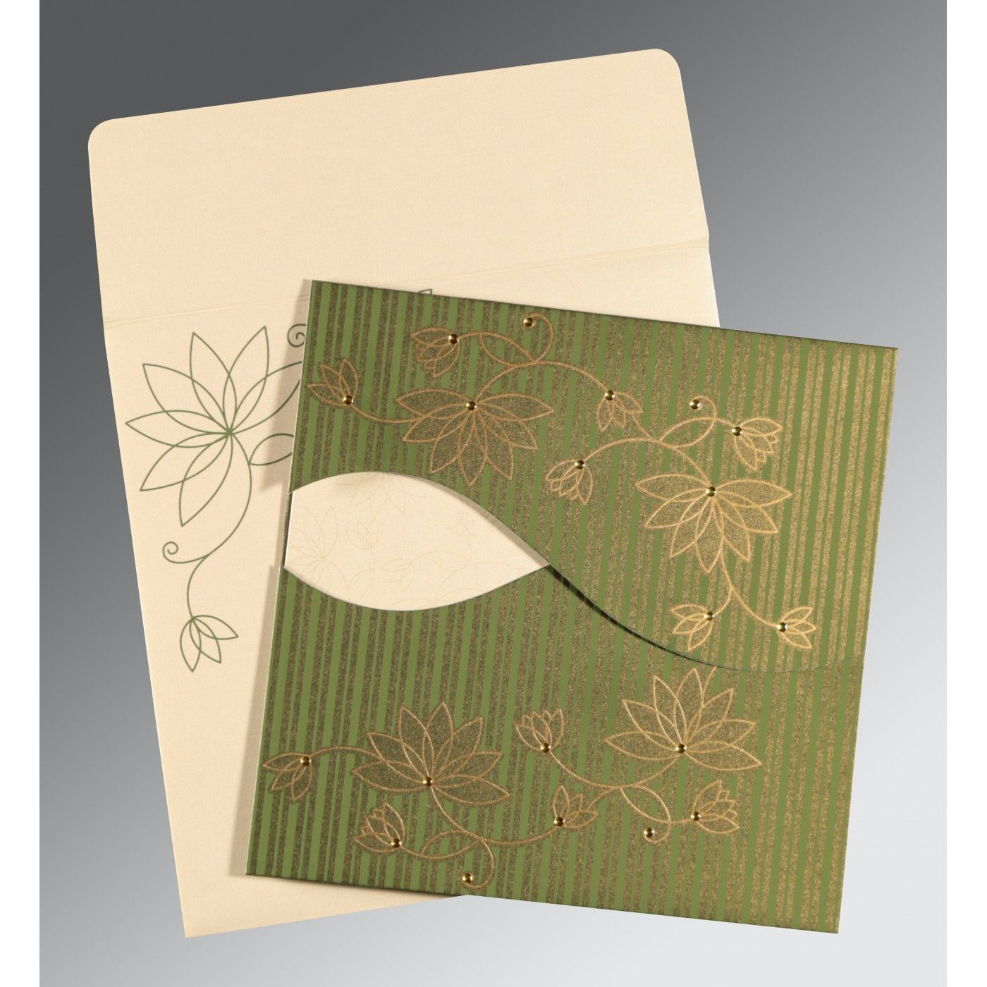 WEDDING INVITATION : CC-8251K - IndianWeddingCards