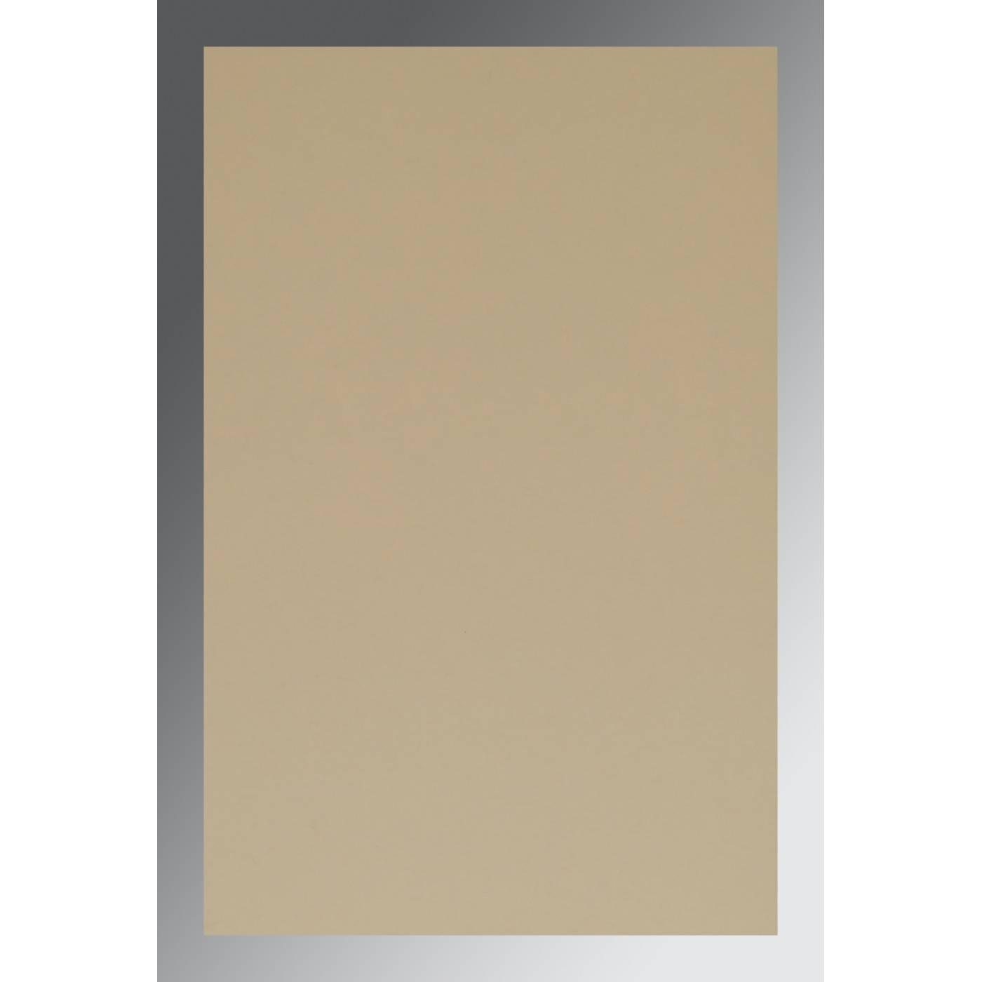 BEIGE GOLD MATTE FOIL STAMPED WEDDING CARD : CG-1407 - IndianWeddingCards